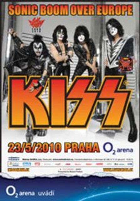 Poster from 23 May 2010 show Prague, Czech Republic