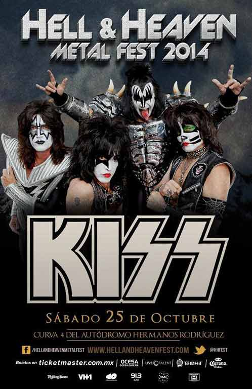Poster from Mexico City, Mexico 25 October 2014 show