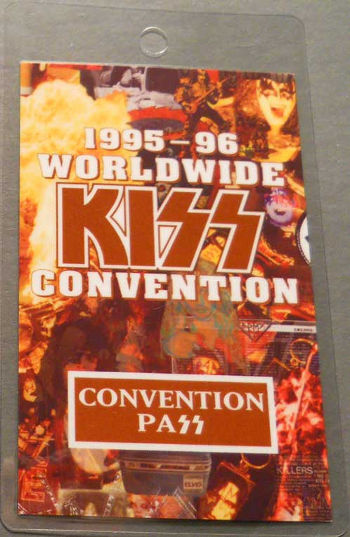 Convention Pass from Pittsburgh, PA, USA 01 August 1995 show