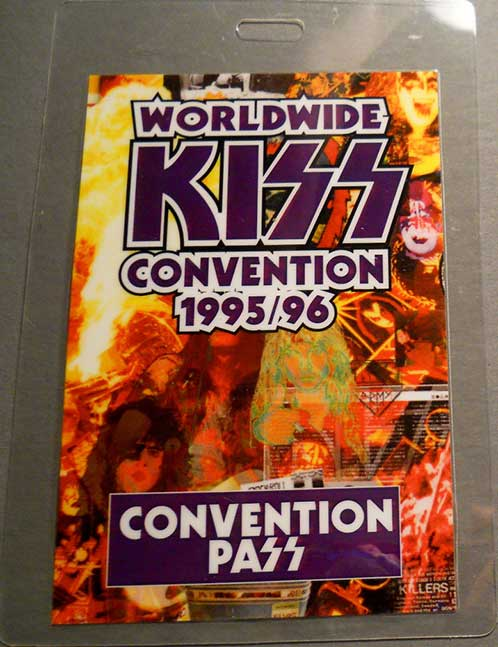 Convention Pass from Sydney, Australia 12 February 1995 show