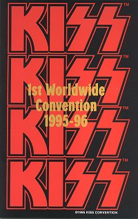 1st Worldwide Convention Tourbook Cover