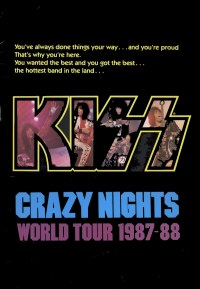 Crazy Nights Tourbook Cover