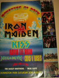 Monsters Of Rock 1988 Tourbook Cover