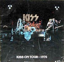 Kiss On Tour 1976 Tourbook Cover