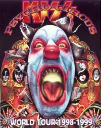 Psycho Circus World Tour 1998 to 1999 Tourbook Cover