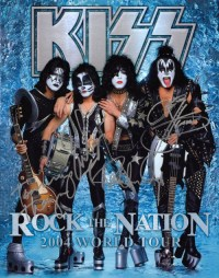 Rock The Nation 2004 World Tour Tourbook Cover