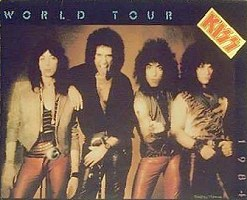 World Tour 1984 Tourbook Cover