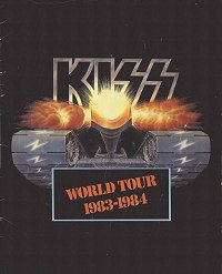 World Tour 1983 & 1984 Tourbook Cover